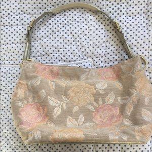 Adrienne Vittadini floral bag purse.